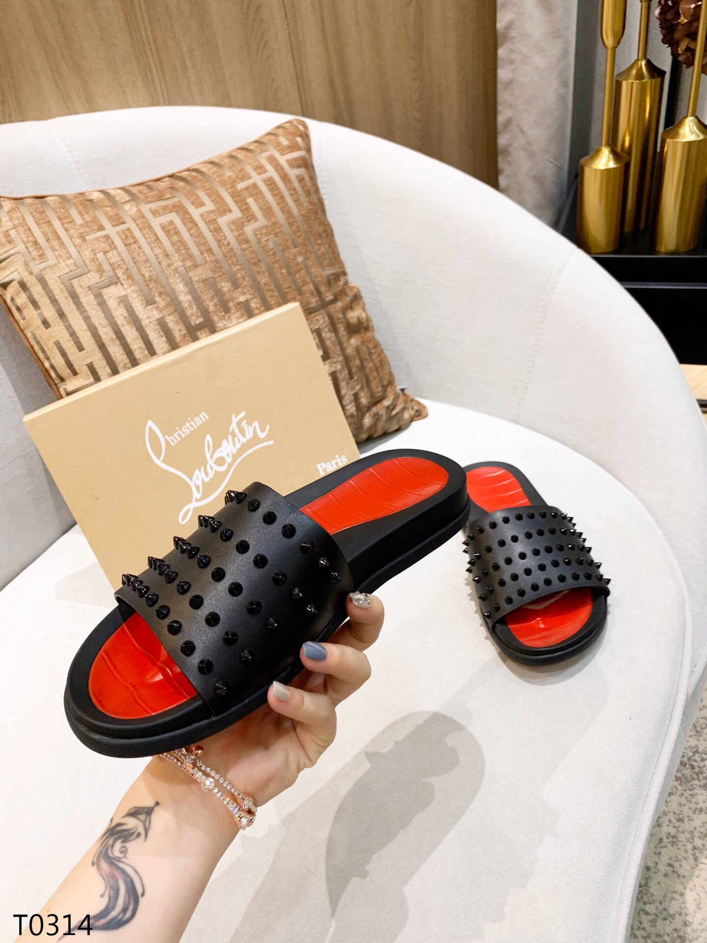 Louboutin Men's Slippers 10