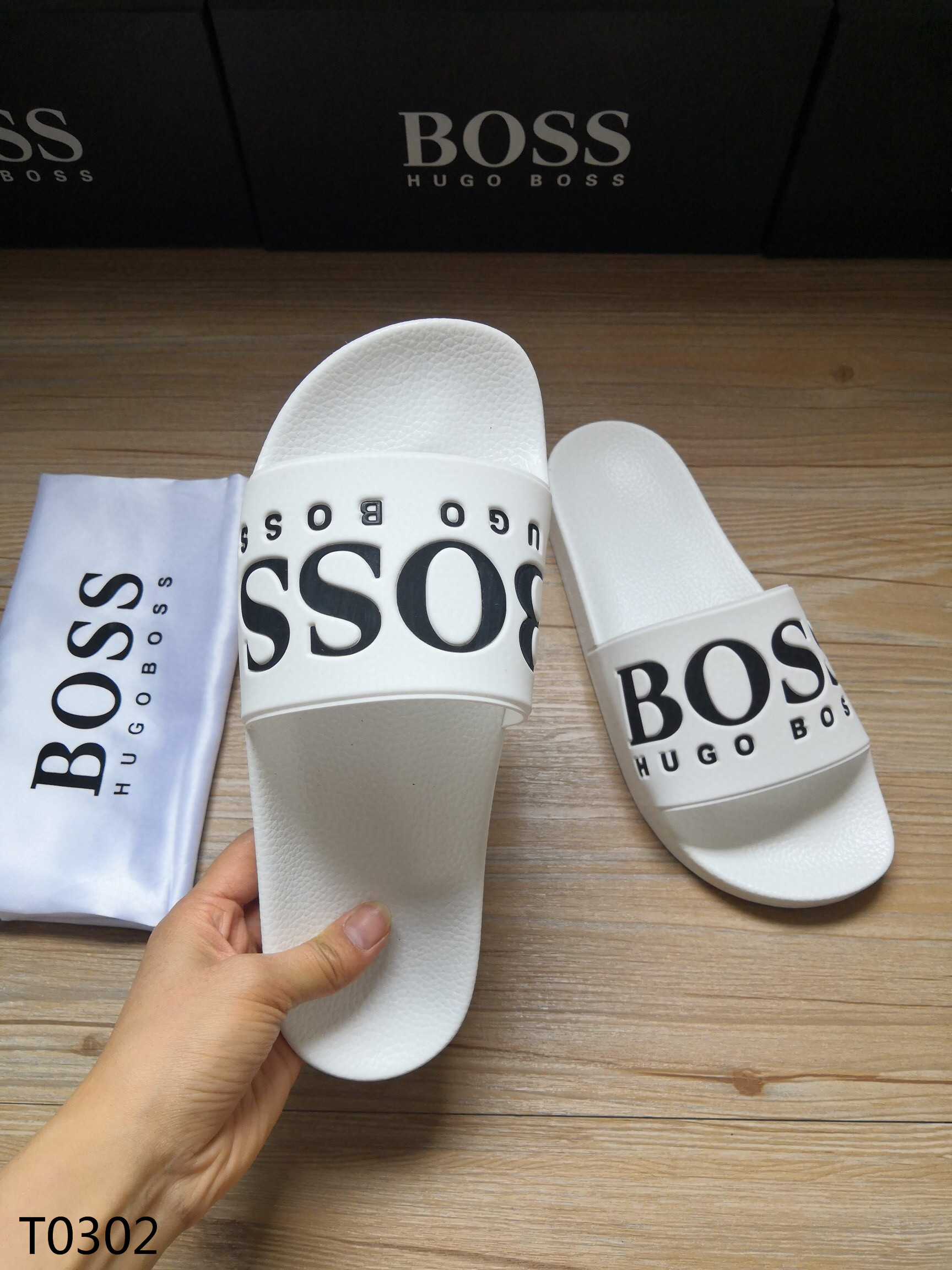 Hugo Boss Men's Slippers 02