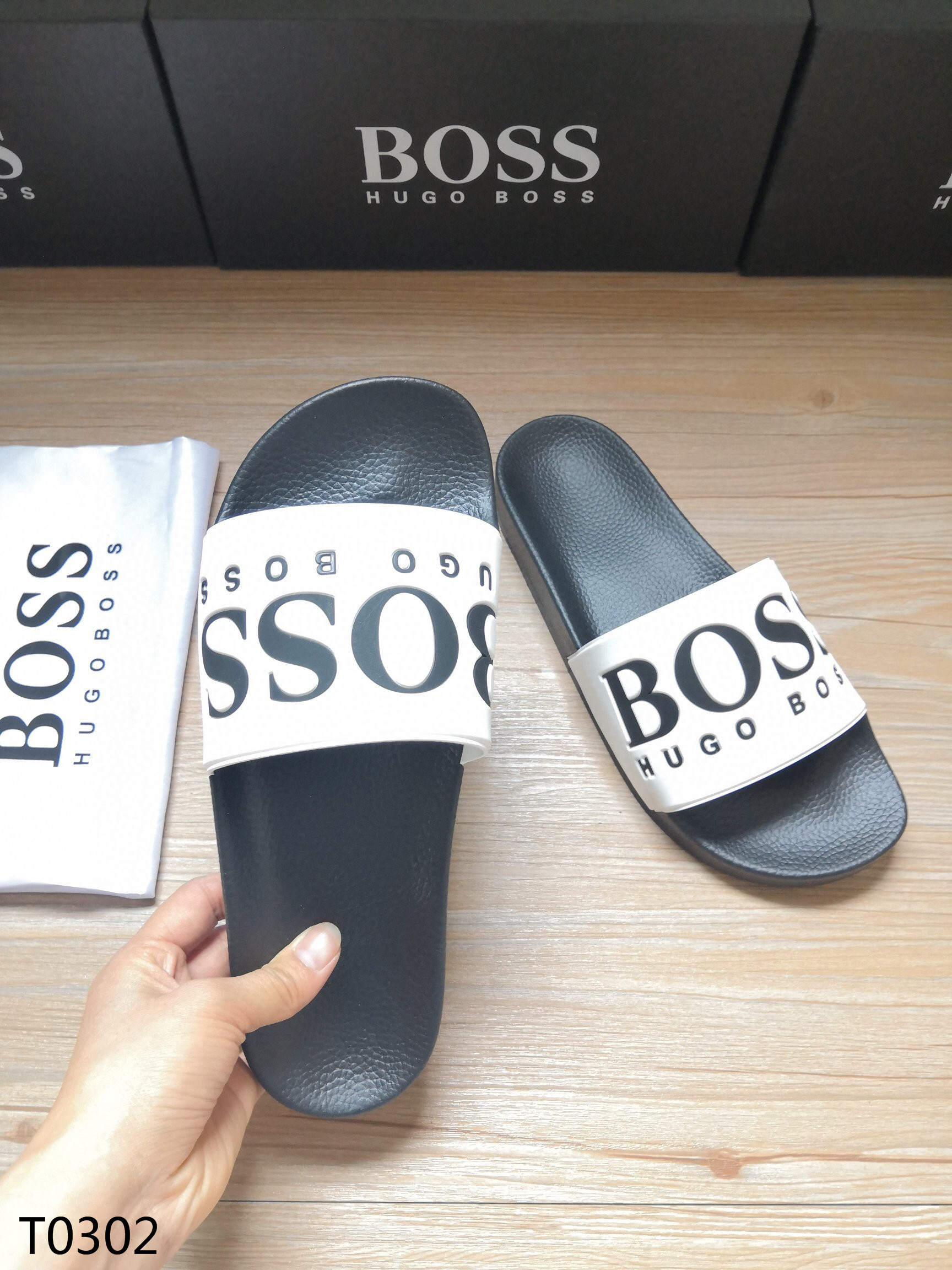 Hugo Boss Men's Slippers 03