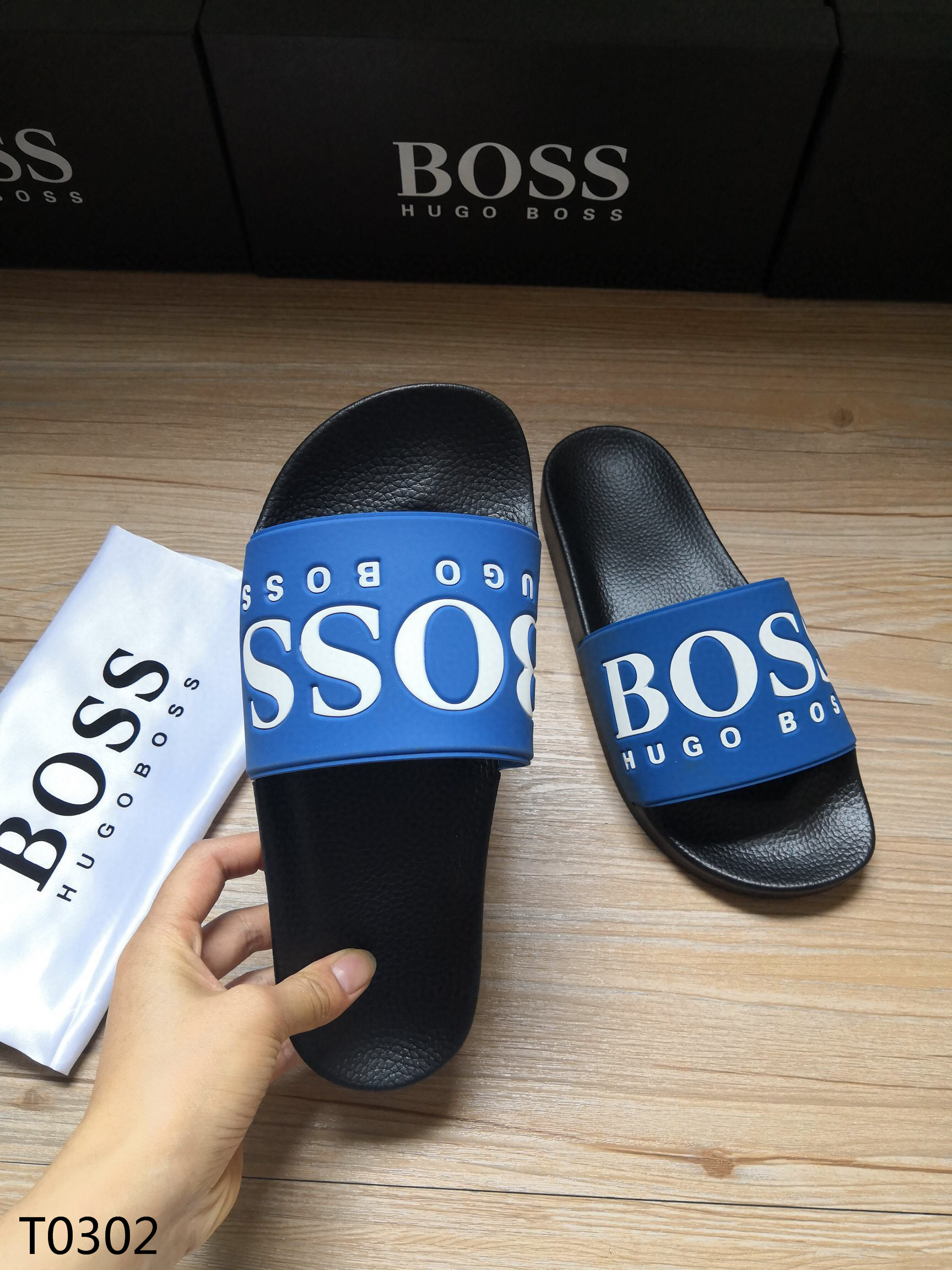 Hugo Boss Men's Slippers 07